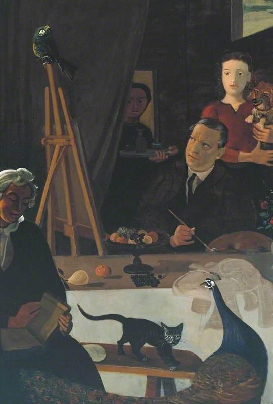 The Painter and his Family (Le Peintre et sa famille)
