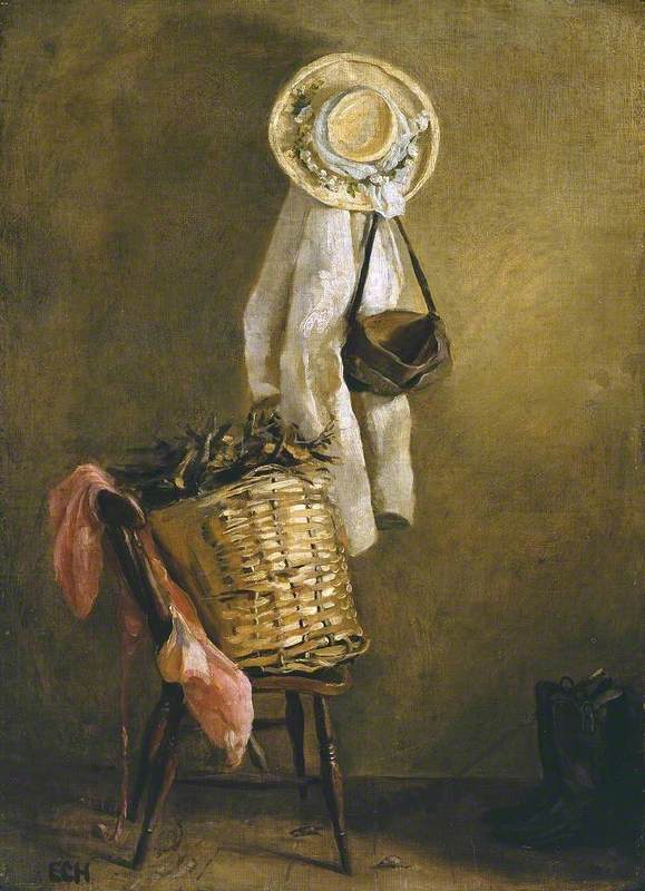 Still Life of a Basket on a Chair