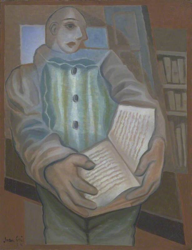 Pierrot with Book (Le Pierrot au livre)