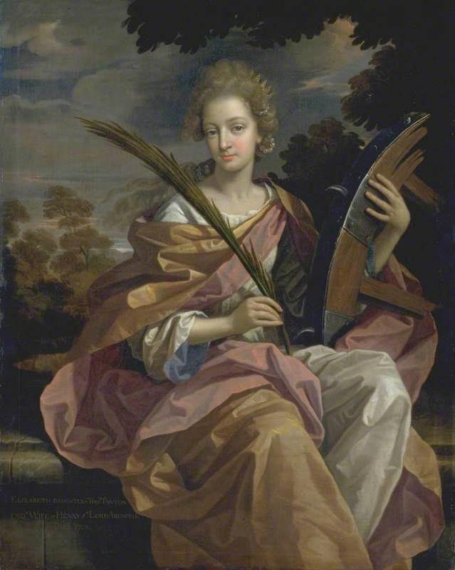Elizabeth Panton, Later Lady Arundell of Wardour, as Saint Catherine
