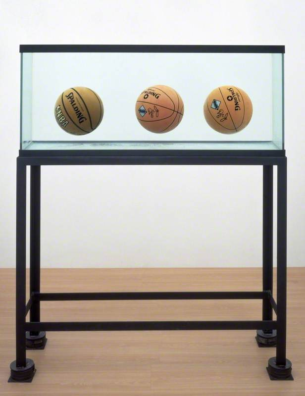 Three Ball Total Equilibrium Tank (Two Dr J Silver Series, Spalding NBA Tip-Off)