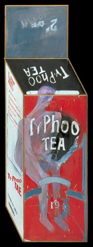 Tea Painting in an Illusionistic Style