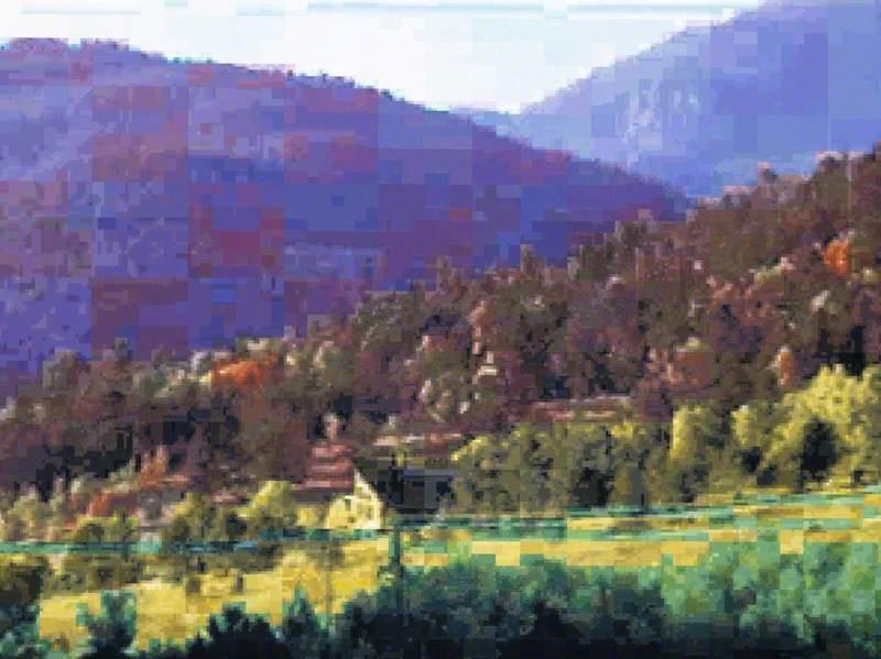 Colorado Impression 11b (after Dan Hays, Colorado)