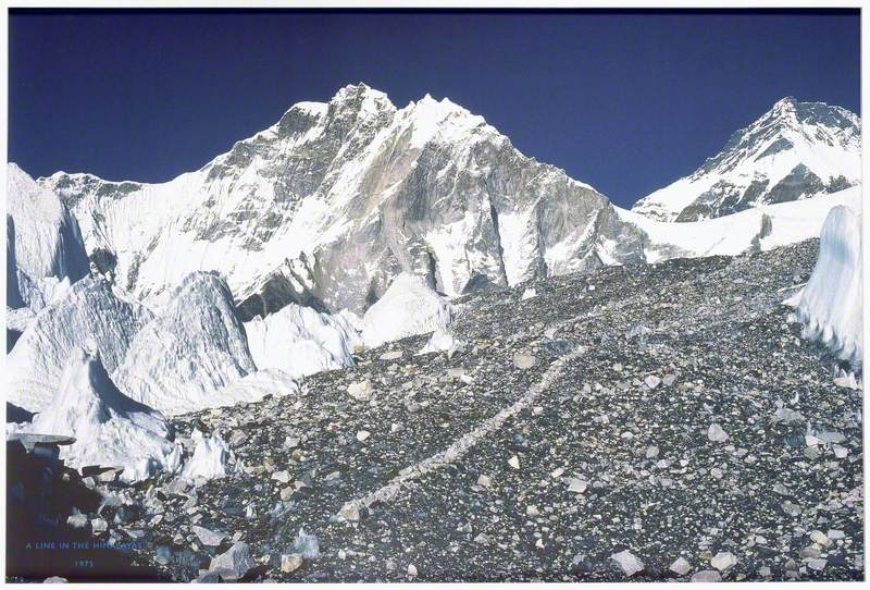 A Line in the Himalayas