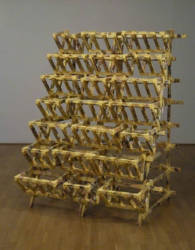 Untitled (Yellow Rack)