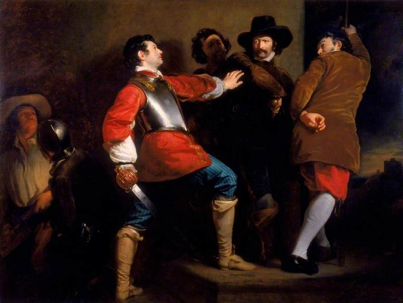The Discovery of the Gunpowder Plot and the Taking of Guy Fawkes