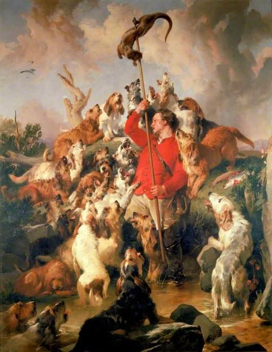 The Otter Speared, the Earl of Aberdeen's Otterhounds