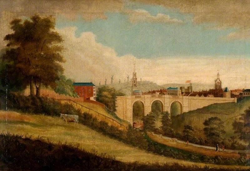 New Bridge over Pandon Dene, Newcastle upon Tyne