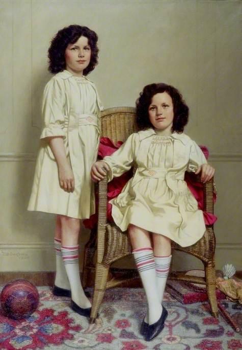 The Twins (Winifred and Leonora Reid, b.1911)