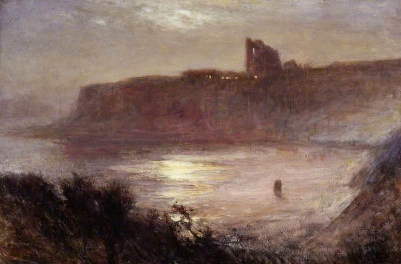 Moonlight, Tynemouth Priory