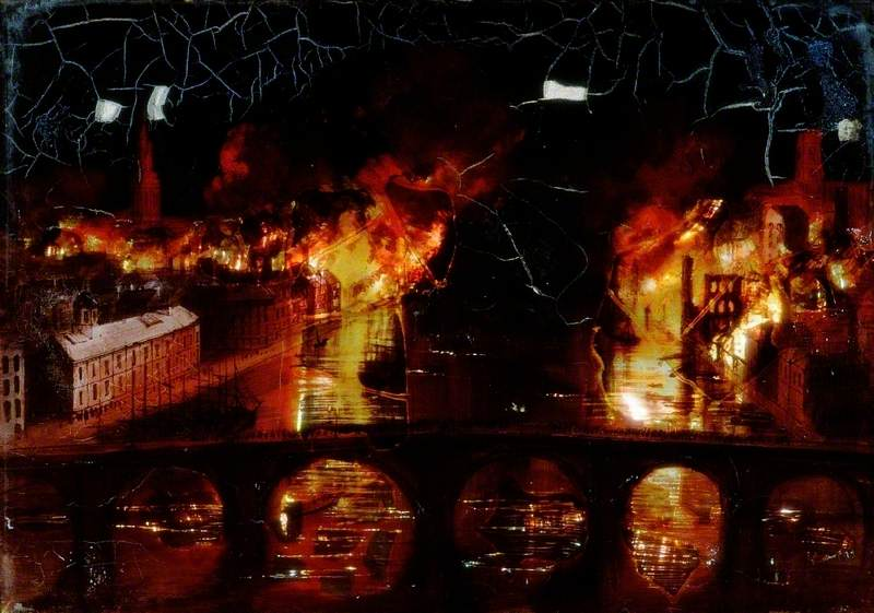 The Great Fire of Newcastle upon Tyne