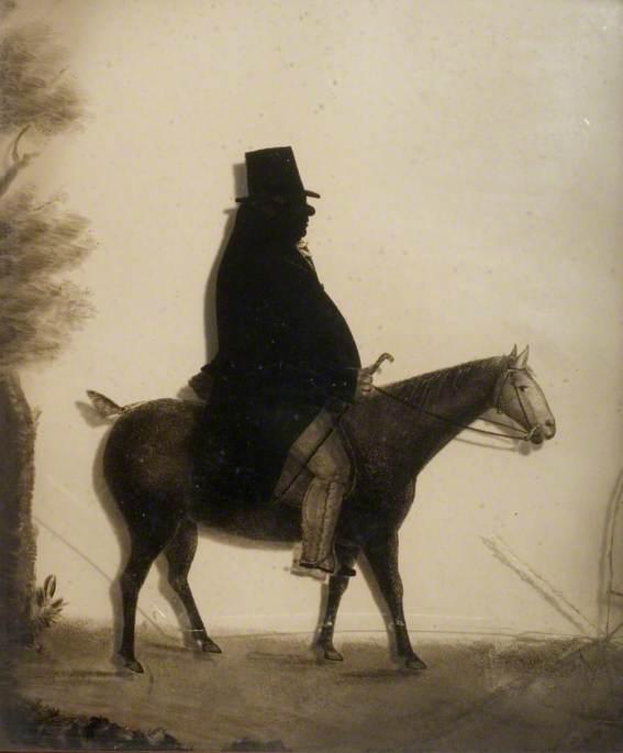 Silhouette of John Charlton