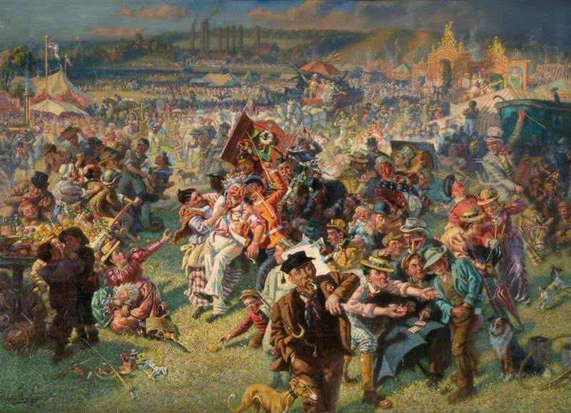 The Blaydon Races, a Study from Life