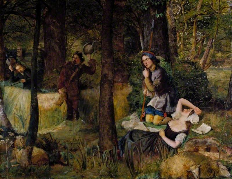 Scene from 'As You Like It' by William Shakespeare