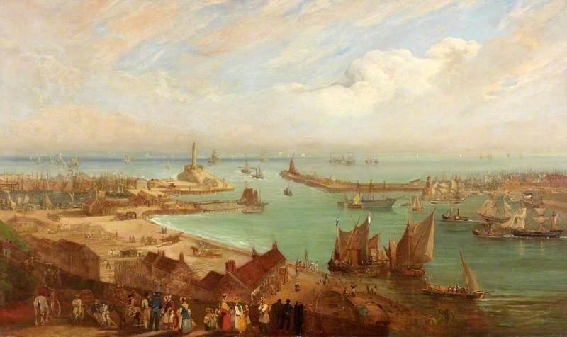 Sunderland Harbour from Roker