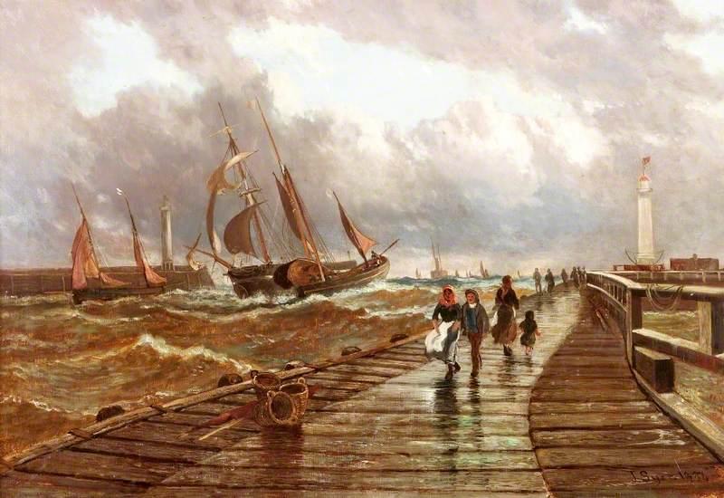 Sunderland Piers, 1843