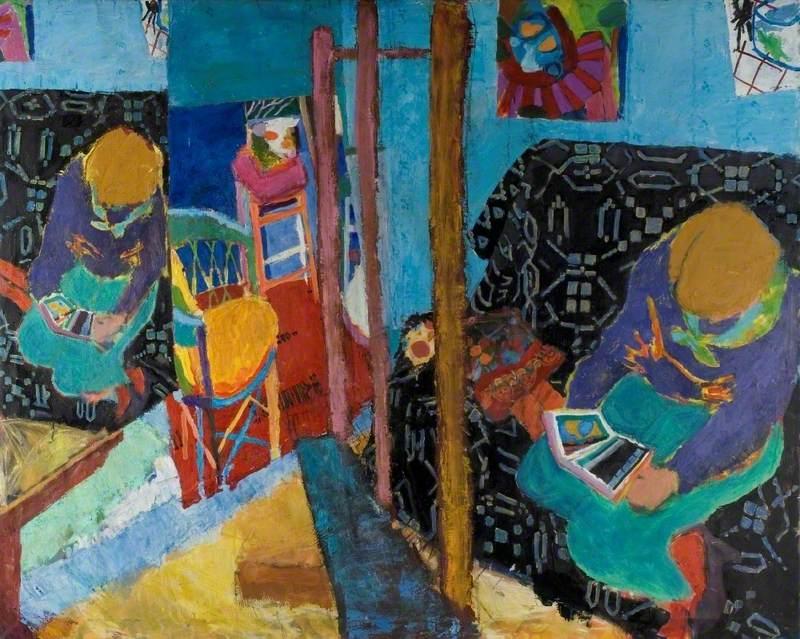 Figure in a Studio