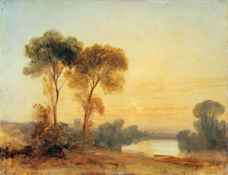 Sunset: A Sketch