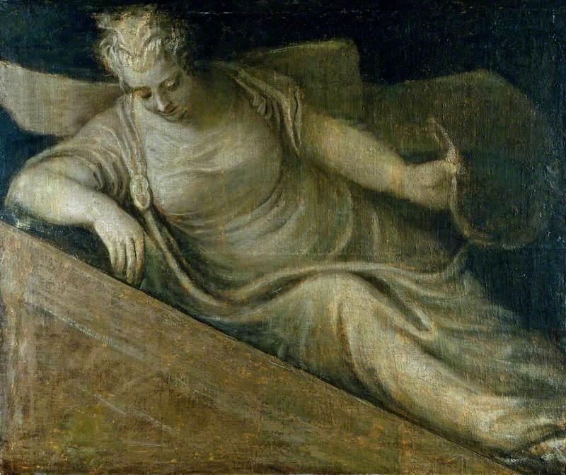 An Allegorical Female Figure: Poetry (?)