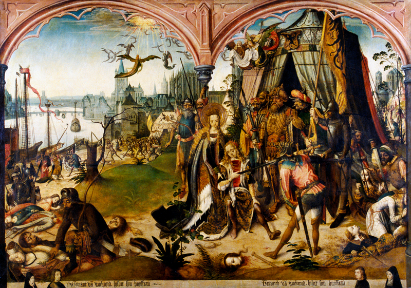 The Martyrdom of Saint Ursula and the 11,000 Virgins