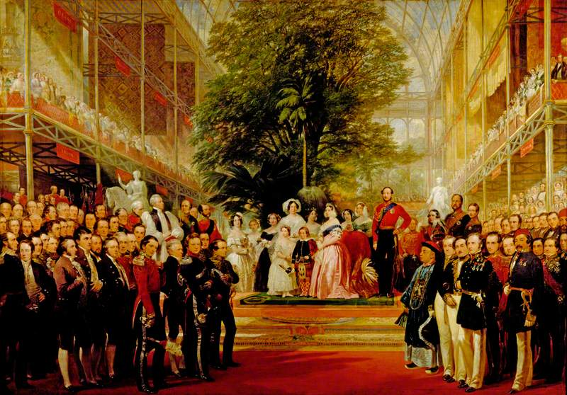 The Opening of the Great Exhibition by Queen Victoria on 1 May 1851