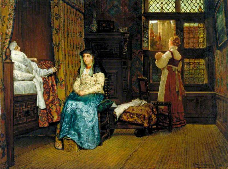 The Visit: A Dutch Interior
