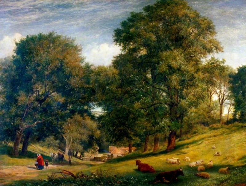 An Old English Homestead