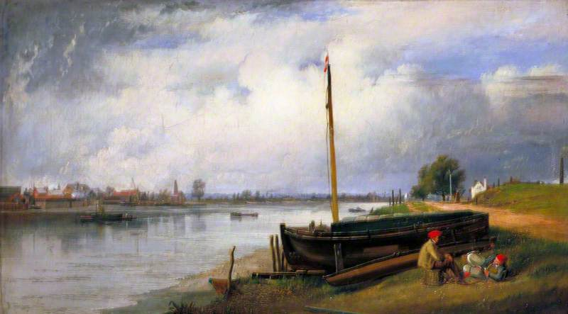 The Thames from Millbank