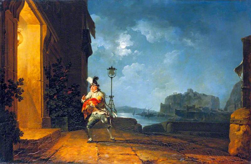 David Garrick (1717–1779), as Don John in 'The Chancers' by John Fletcher, Adapted by George Villiers