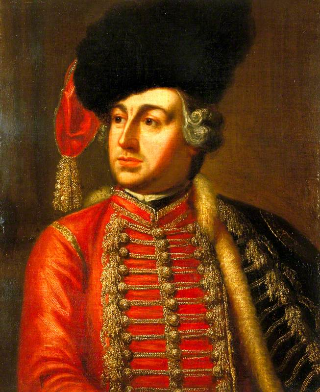 David Garrick (1717–1779), as Tancred in 'Tancred and Sigismunda' by James Thomson
