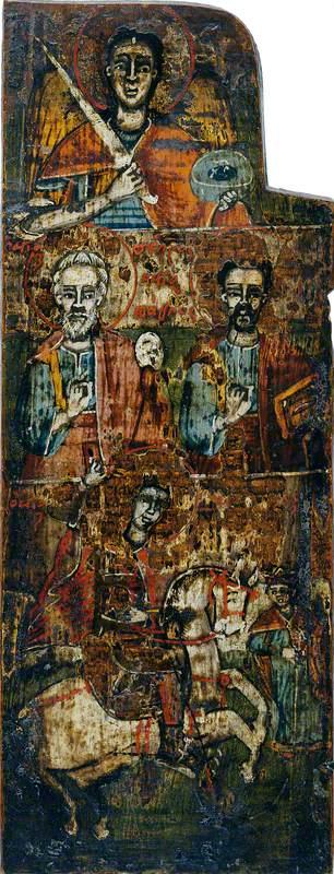 The Archangel Michael with Saints