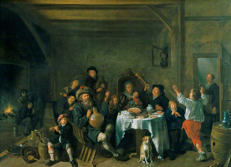 A Family Merrymaking