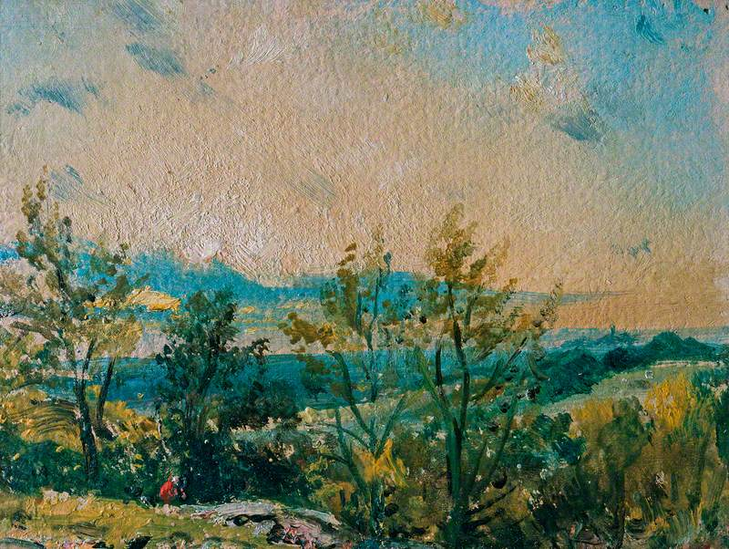 Sketch at Hampstead: Stormy Sunset