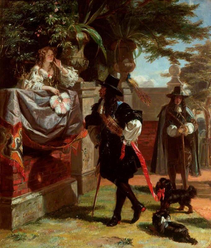 Charles II (1630–1685), and Nell Gwyn (1650–1687)