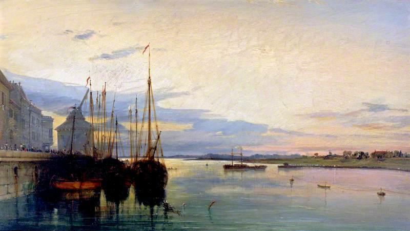 Nimeguen, on the Rhine