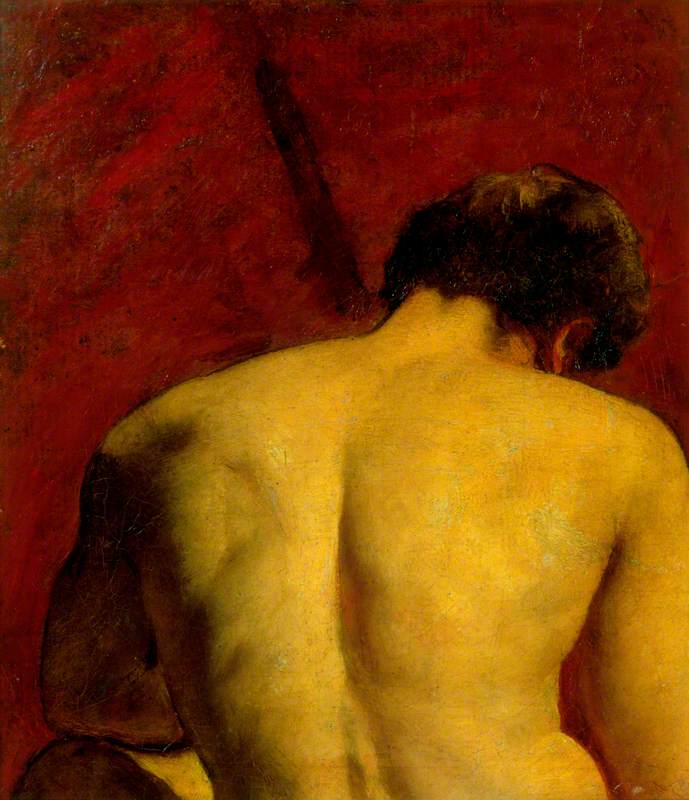 Study of a Nude Male Figure