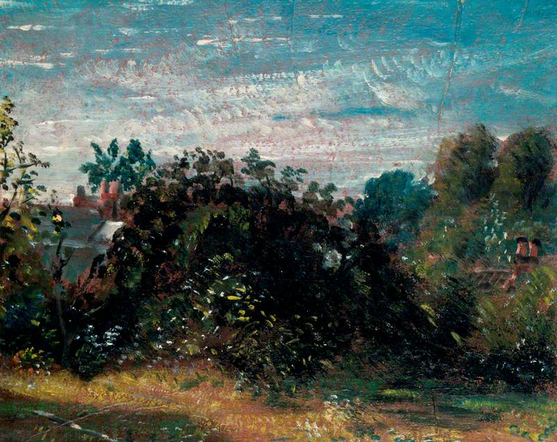 Study of Sky and Trees at Hampstead