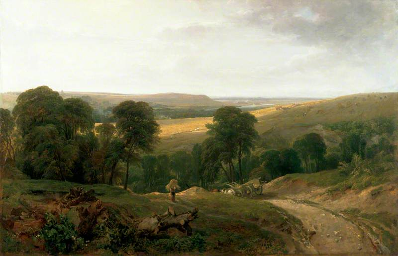 Landscape with a Waggon