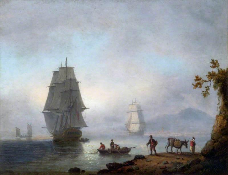 Sea Piece: Ships under Sail