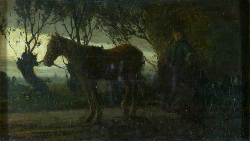 The Hay Cart: Effect of Dawn or Twilight