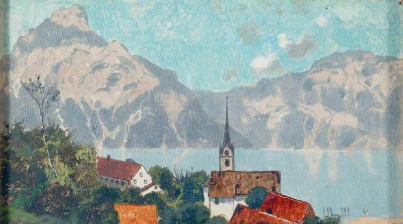 Flüelen, on the Lake of Lucerne