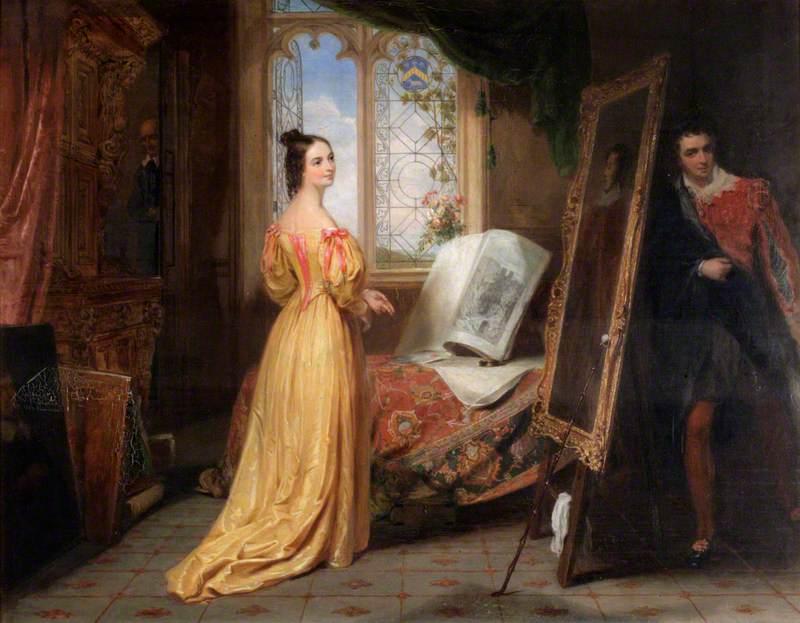 Scene from 'The Honeymoon' by John Tobin