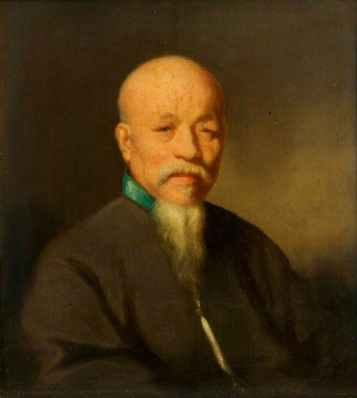 Portrait of a Chinese Mandarin
