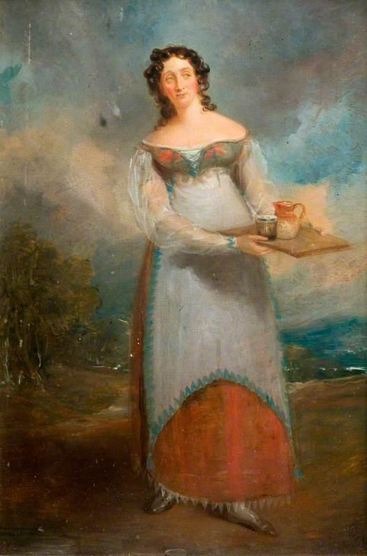 Maria Rebecca Davison (1783–1858), as Juliana in 'The Honeymoon' by John Tobin