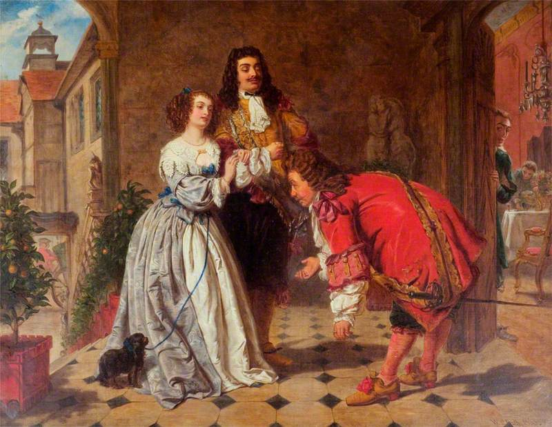 Monsieur Jourdain Receiving His Guests