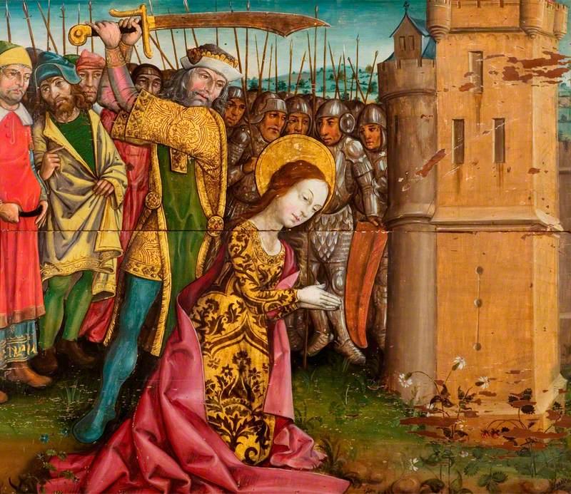The Beheading of Saint Barbara