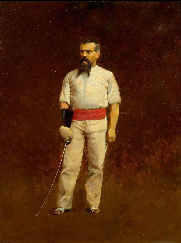 Sir Richard Burton (1821–1890), Dressed for Fencing