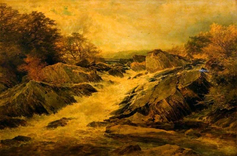 A Welsh Waterfall
