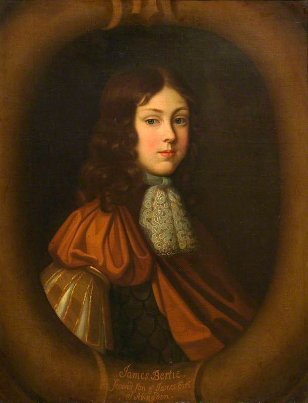 James Bertie (1653–1699), 2nd Son of James, Earl of Abingdon