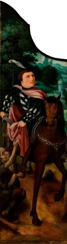 Saint Martin Dividing His Cloak